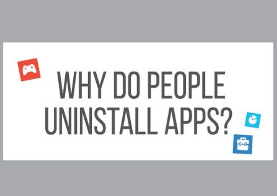Why do People Uninstall Apps [Infographic]