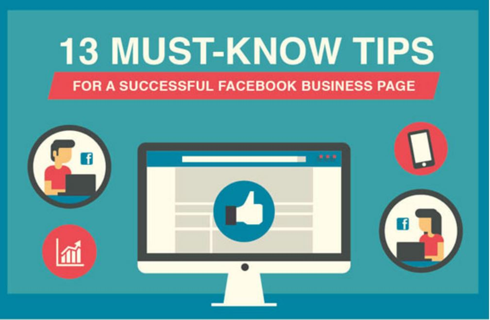 13 Must-Know Tips for a Successful Facebook Business Page [Infographic]