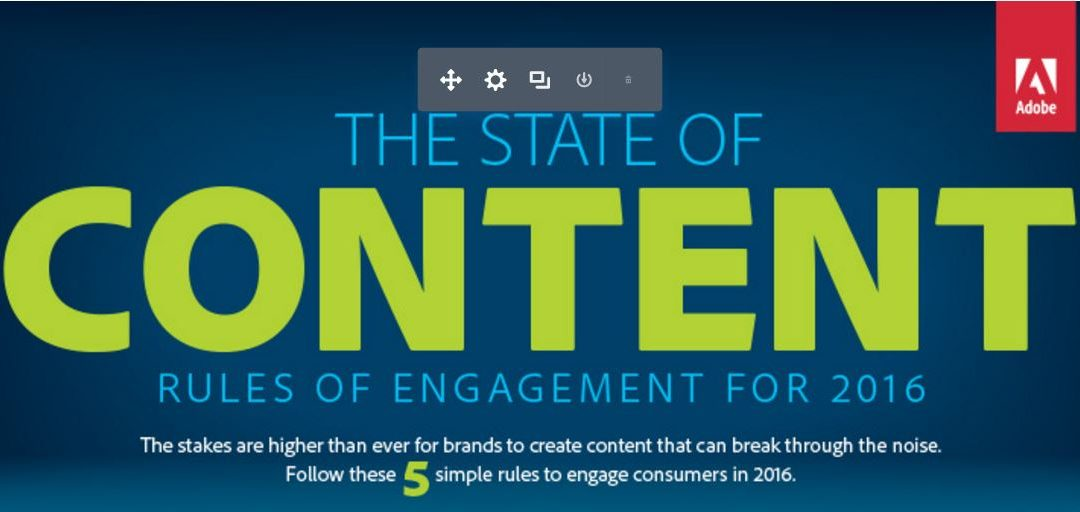 State of Content Rules Engagement in 2016 [Infographic]