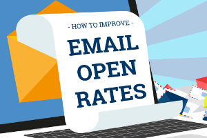How to Improve Email Open Rates [Infographic]