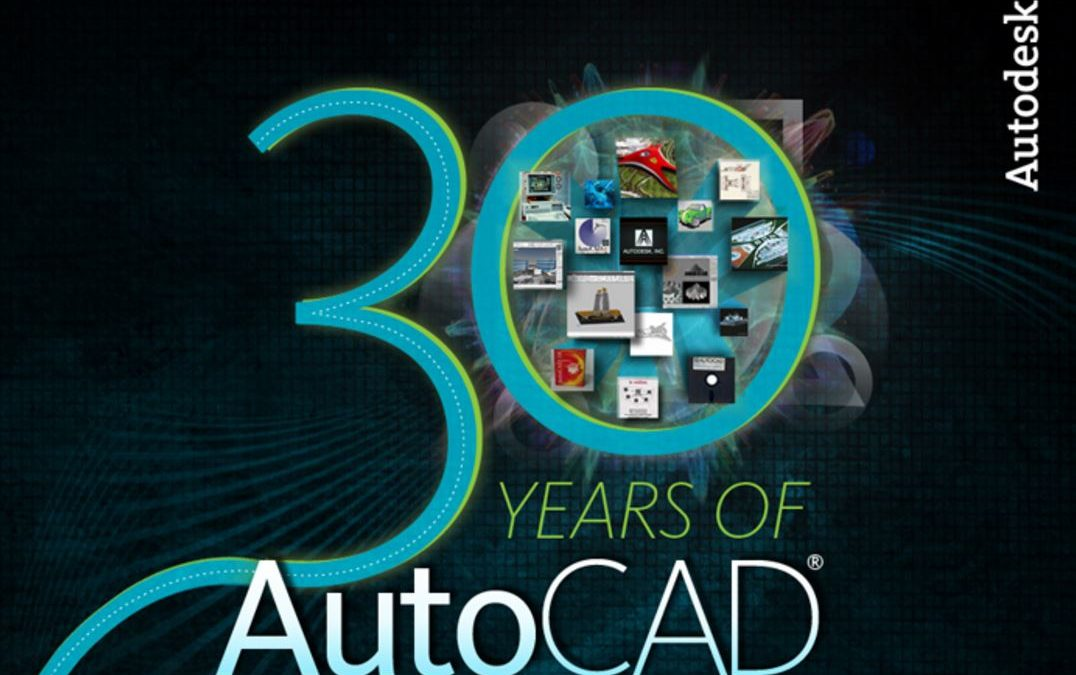 30 Years of AutoCAD [Infographic]
