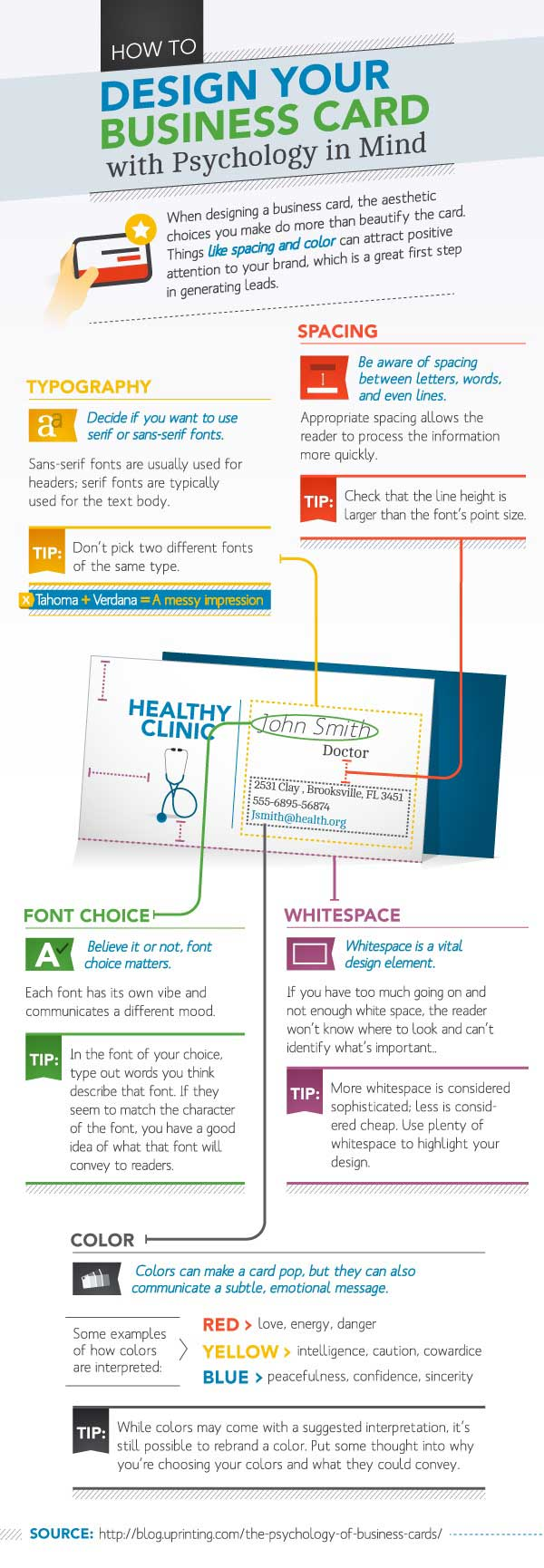 Business Card Psychology