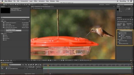 Adobe After Effects Training Pixel Motion Blur