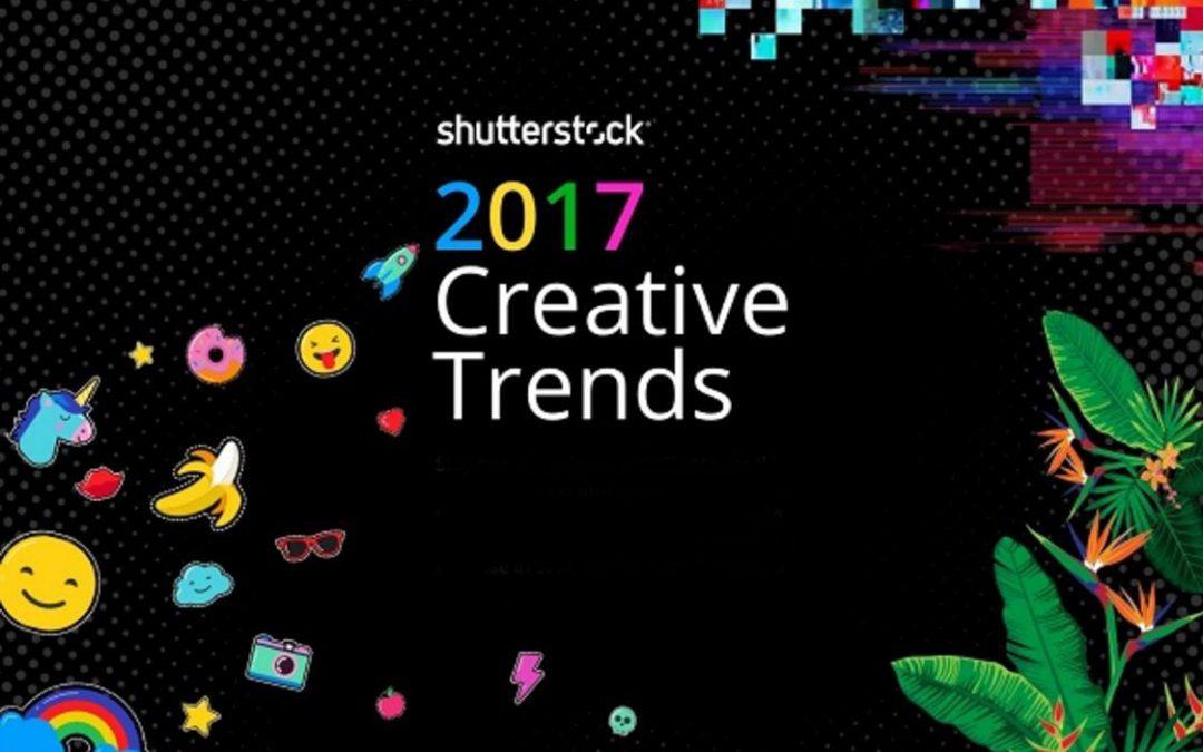 Schutterstock – 2017 Creative Trends [Infographic]
