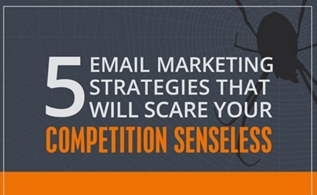 Five Email Marketing Strategies That Will Scare Your Competition Senseless [Infographic]