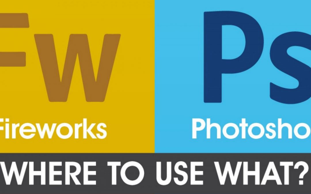 Fireworks vs. Photoshop – Where to use what? [Infographic]