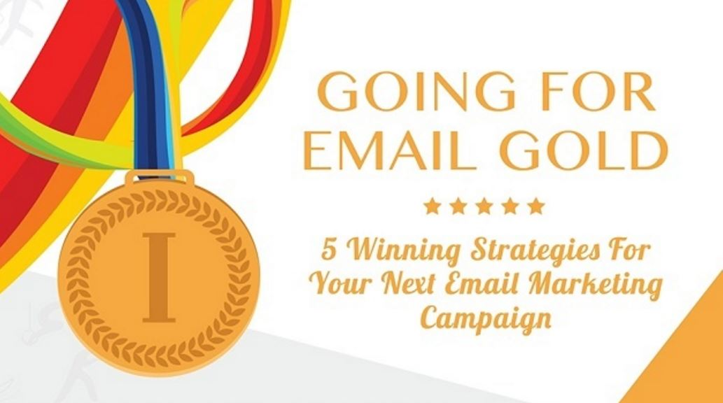 Winning Strategies for Email Campaigns and Winning Gold [Infographic]