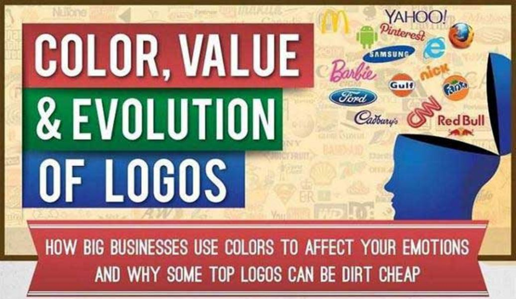 How Big Businesses Use Colors to Affect Your Emotions [Infographic]