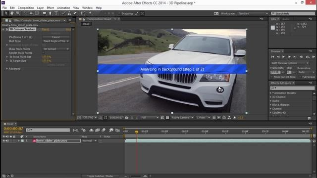 Adobe After Effects Cinema 4D Integration