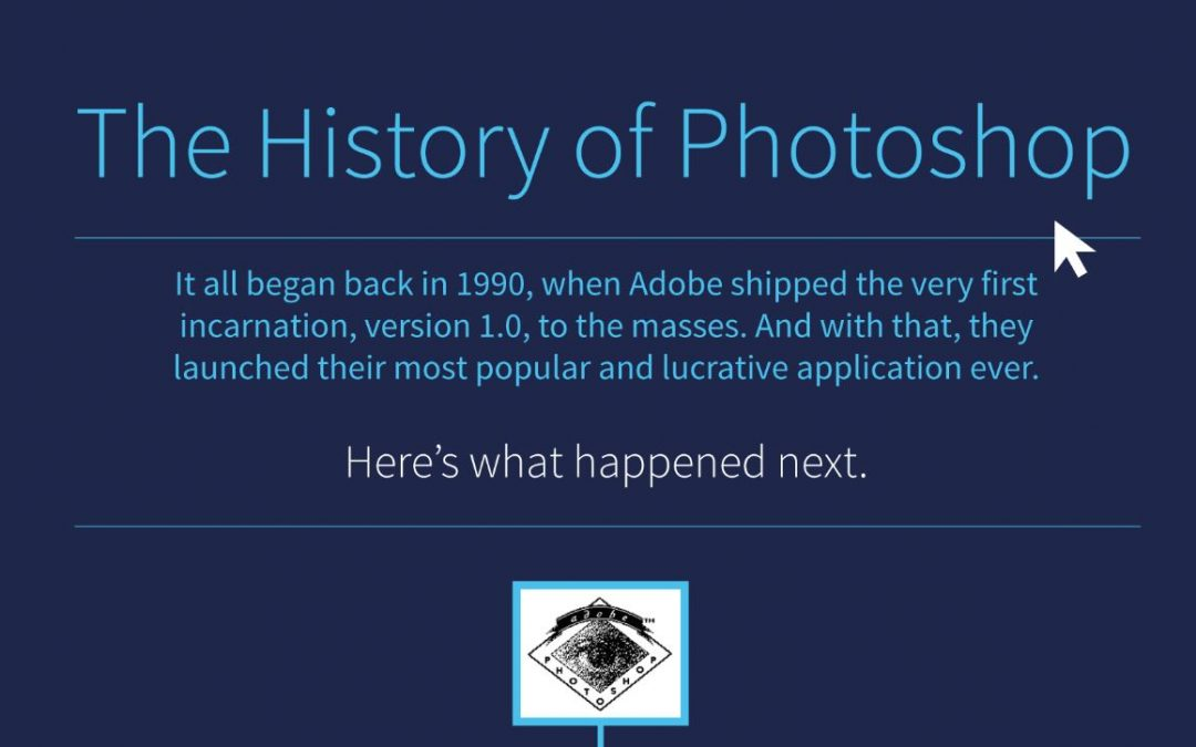 The History of Photoshop [Infographic]