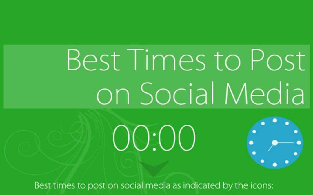 Best Times To Post On Social Media? [Infographic]