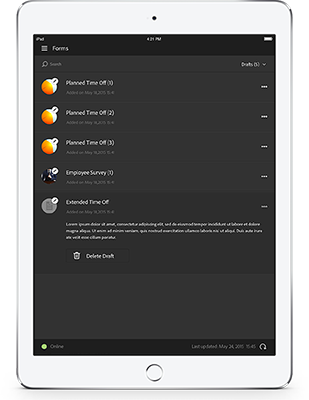 Adobe Experience Manager Forms Mobile