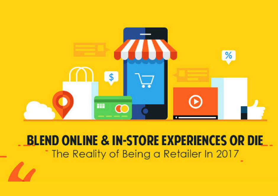 Retail Strategy Today: A Blended Online and In-Store Shopping Journey [Infographic]