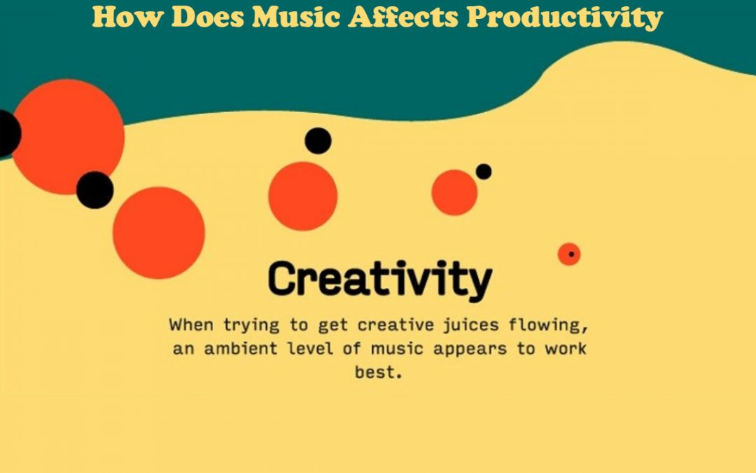How Music Affects Productivity: Music Productivity [Infographic]
