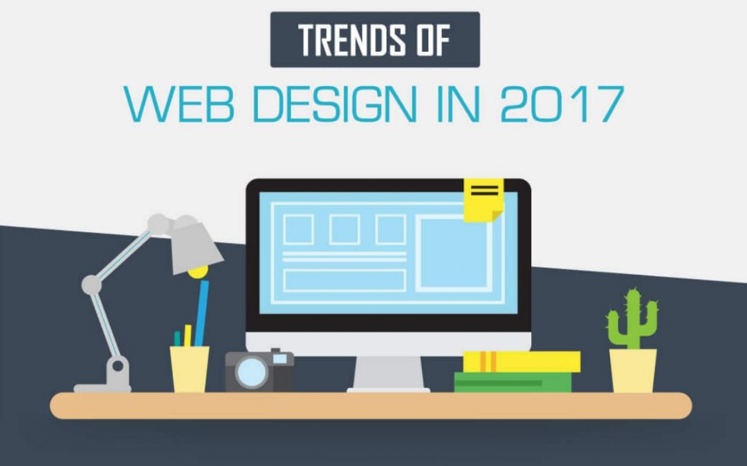Let's make your Website Great Again: Trends of Web Design in 2017 [Infographic]