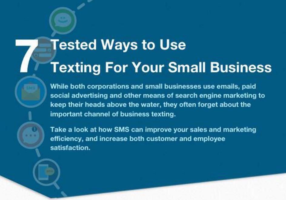 Seven Tested Ways Texting Can Help Your Business [Infographic]