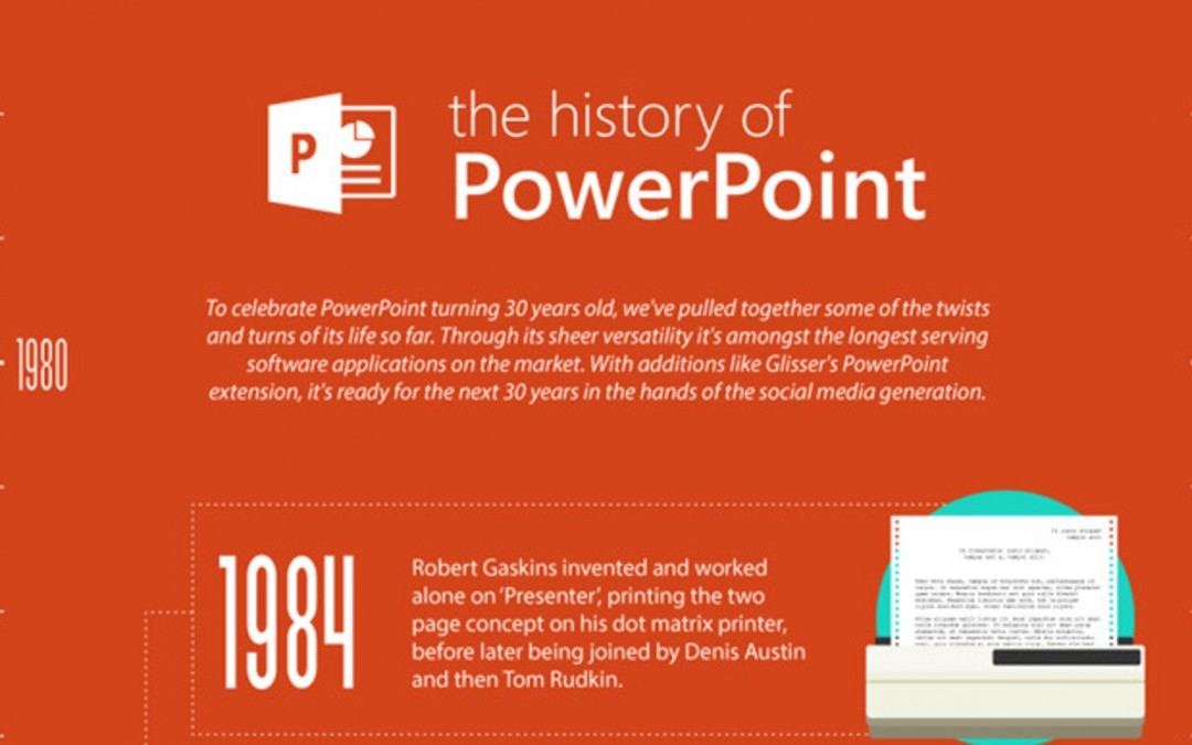 Happy 30th Birthday, PowerPoint [Infographic]