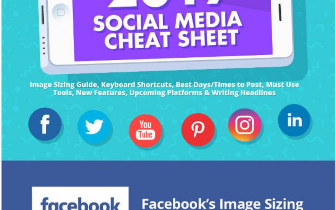 2017 Social Media Cheat Sheet [Infographic]
