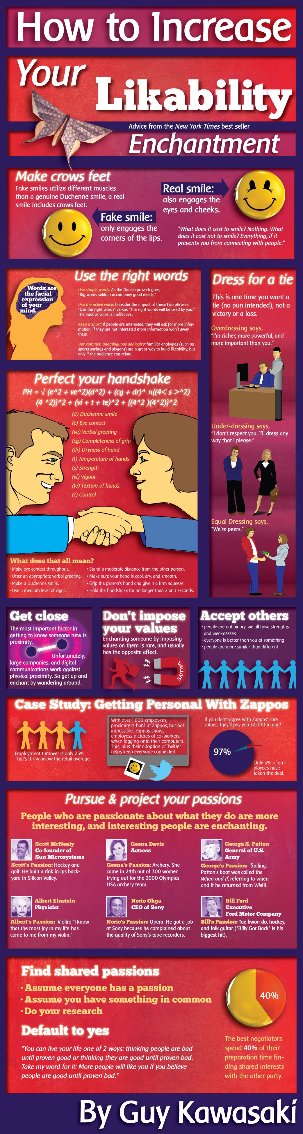 How To Increase Your Likability [Infographic]