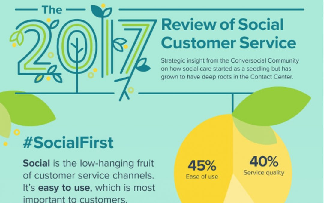 Customer Service Goes Social [Infographic]