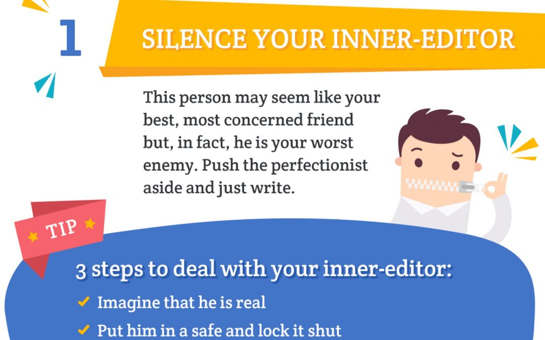 15 Tips Writing Faster [Infographic]