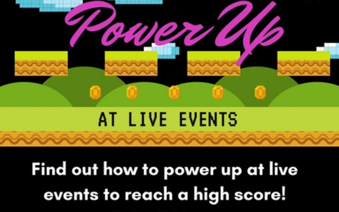 Power Up at Live Events [Infographics]