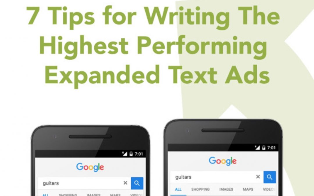 7 Tips for Writing The Highest Performing Fast Expanded Text Ads [Infographic]