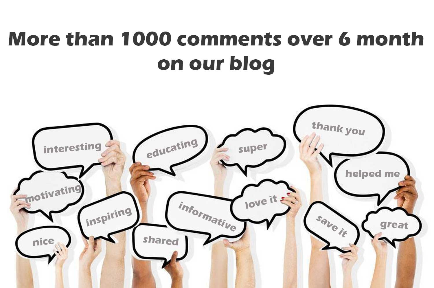 Skillz Middle East Infographics receive 1000 comment in 300 blog posts