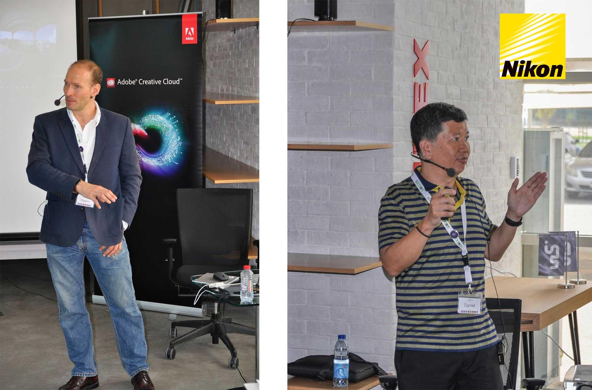 Adobe Premiere Pro Flashback Speaker Maxim Jago Daniel Cheong