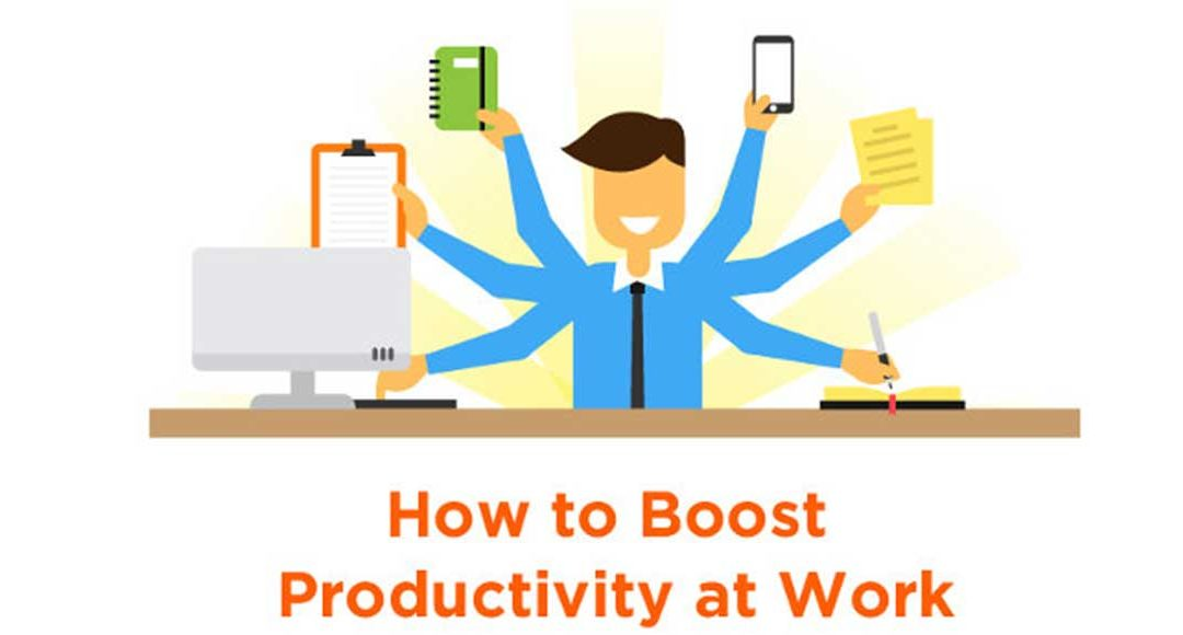 Boost Your Productivity at Work Today [Infographic]
