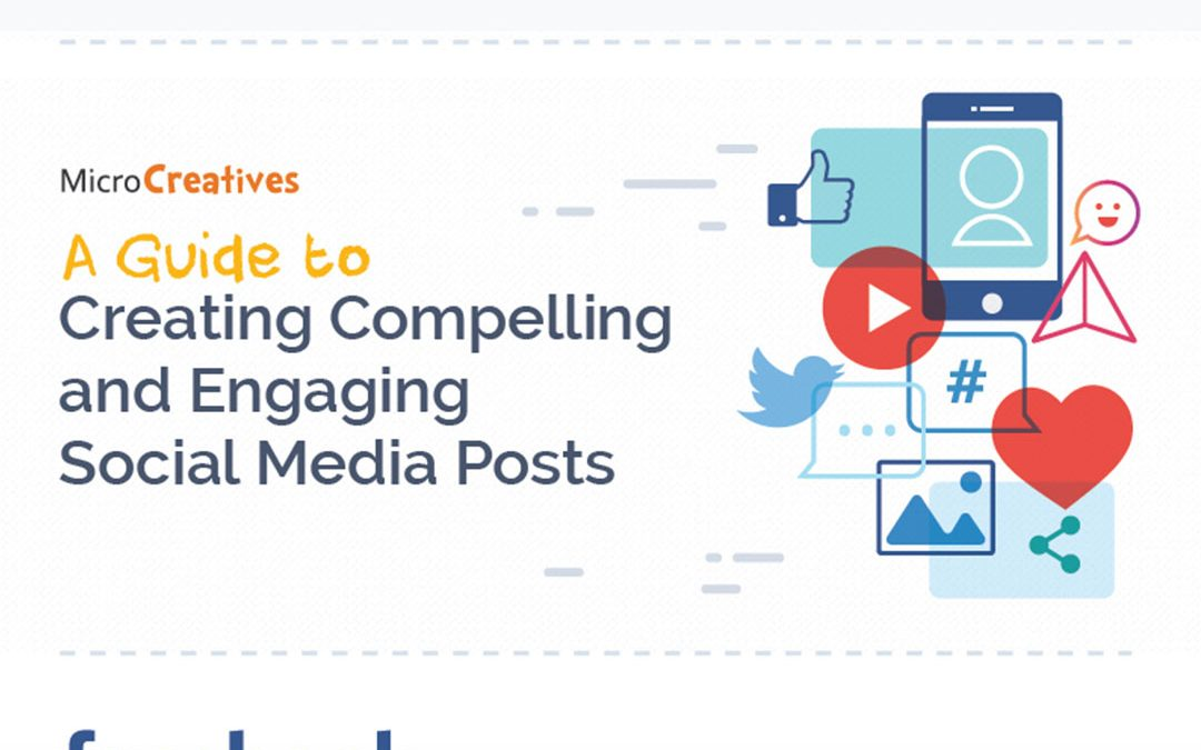A Guide to Creating Compelling and Engaging Social Media Posts [Infographic]