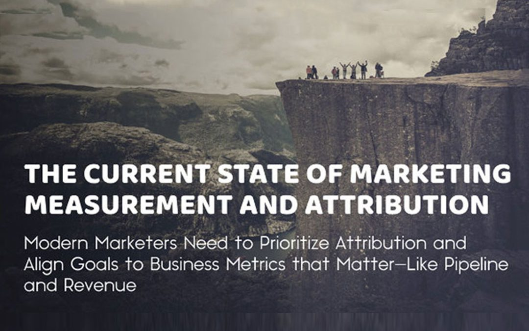 The Current State of Marketing Measurement and Attribution [Infographic]