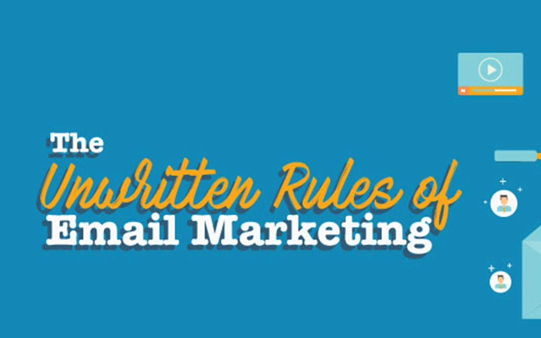 Email Marketing Unwritten Rules [Infographic]