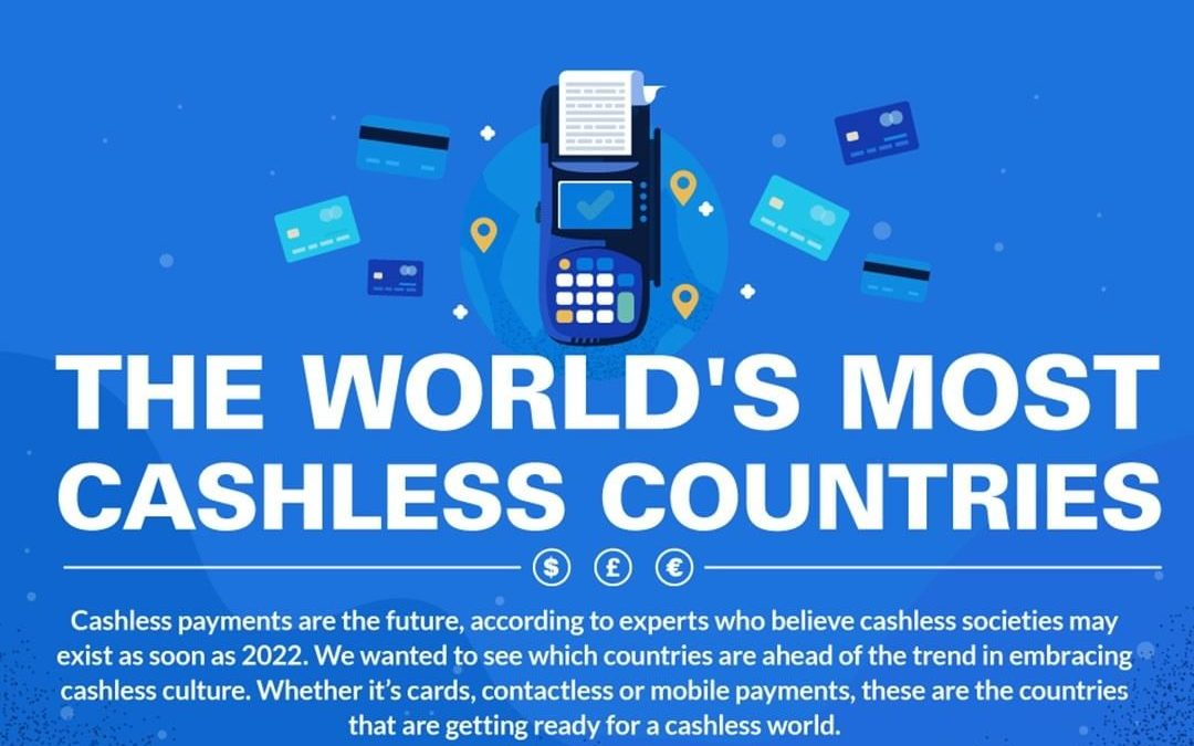 The World's Most Cashless Payment Countries [Infographic]