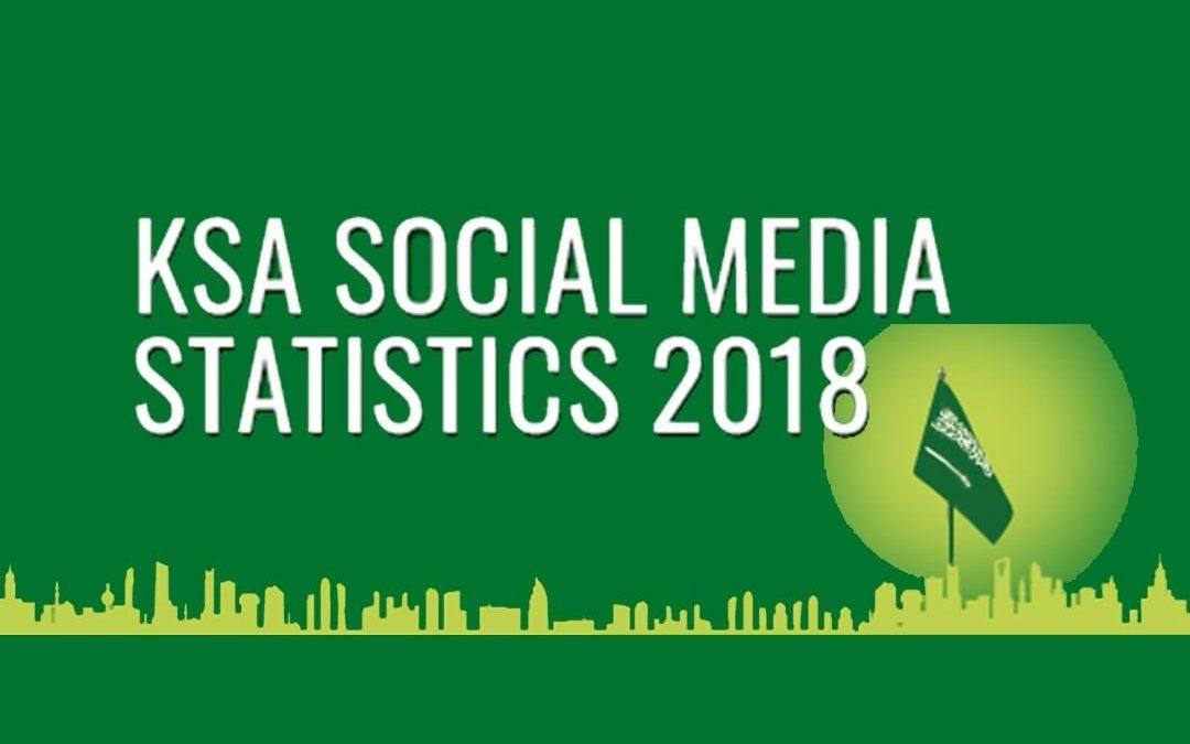 Saudi Arabia Social Media Statistics 2018 [Infographic]