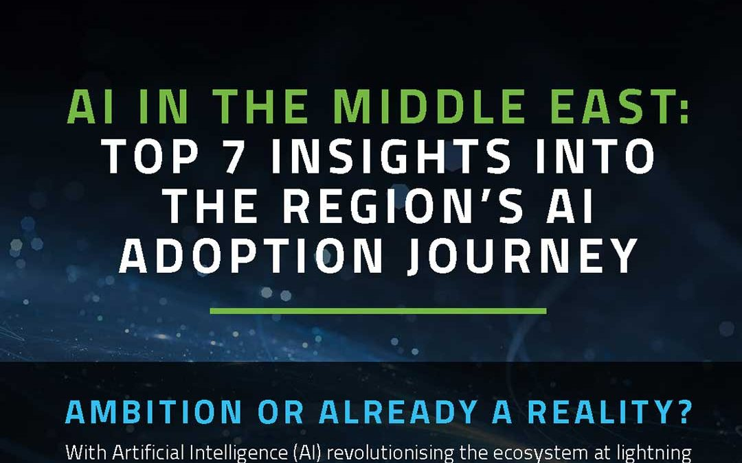 AI in the Middle East: TOP 7 Insights into the region AI Adoption Journey [Infographic]