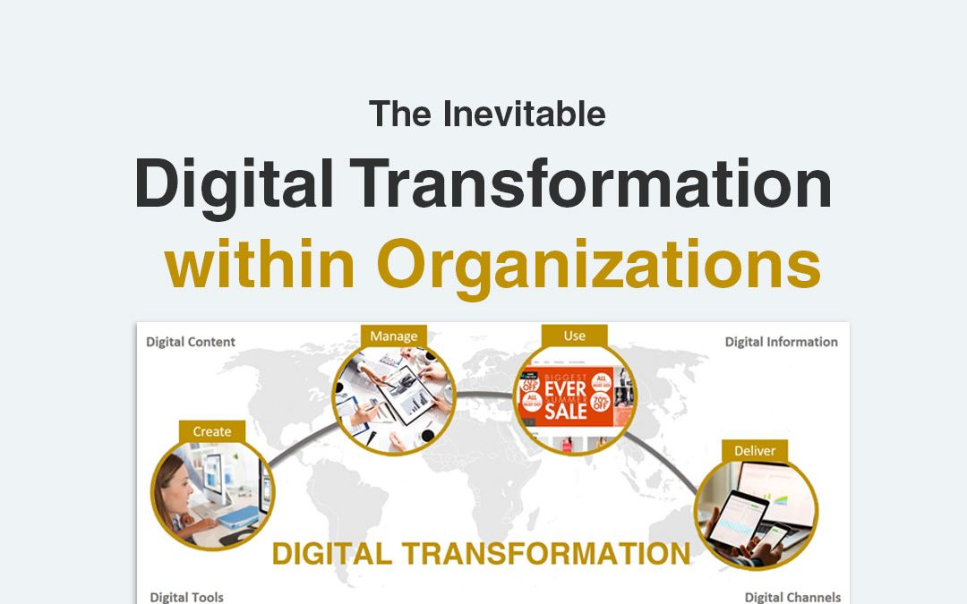 The Inevitable Digital Transformation within Organizations