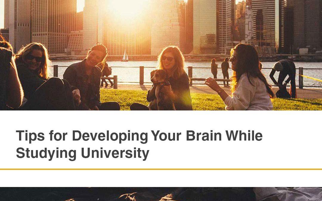 Brain Development Tips While Studying University