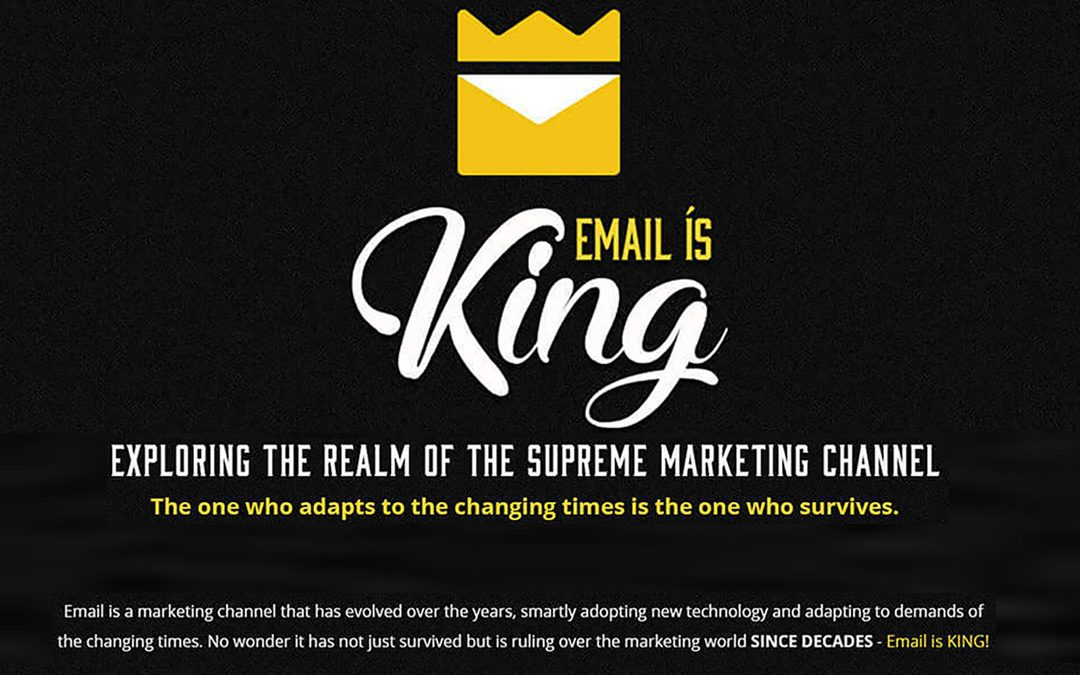Email Is King – Why Email Is Still Supreme [Infographic]