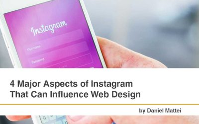4 Major Aspects of Instagram That Can Influence Web Design