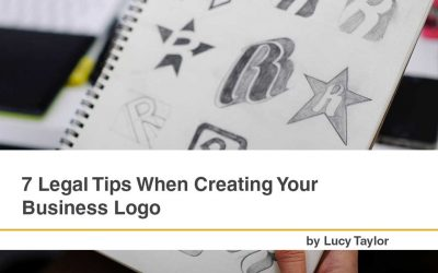 7 Legal Tips When Creating Your Business Logo