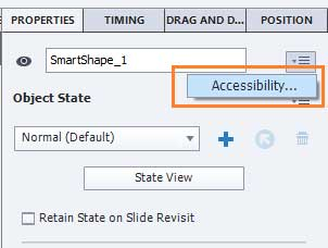 Adobe Captivate Advanced Training Accessibility