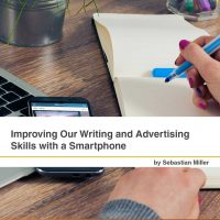 Improving Our Writing and Advertising Skills with a Smartphone
