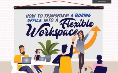 Flexible Workspace: Transform Your Boring Office [Infographic]