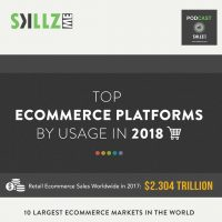 e-Commerce Platforms in 2018 [Infographic]