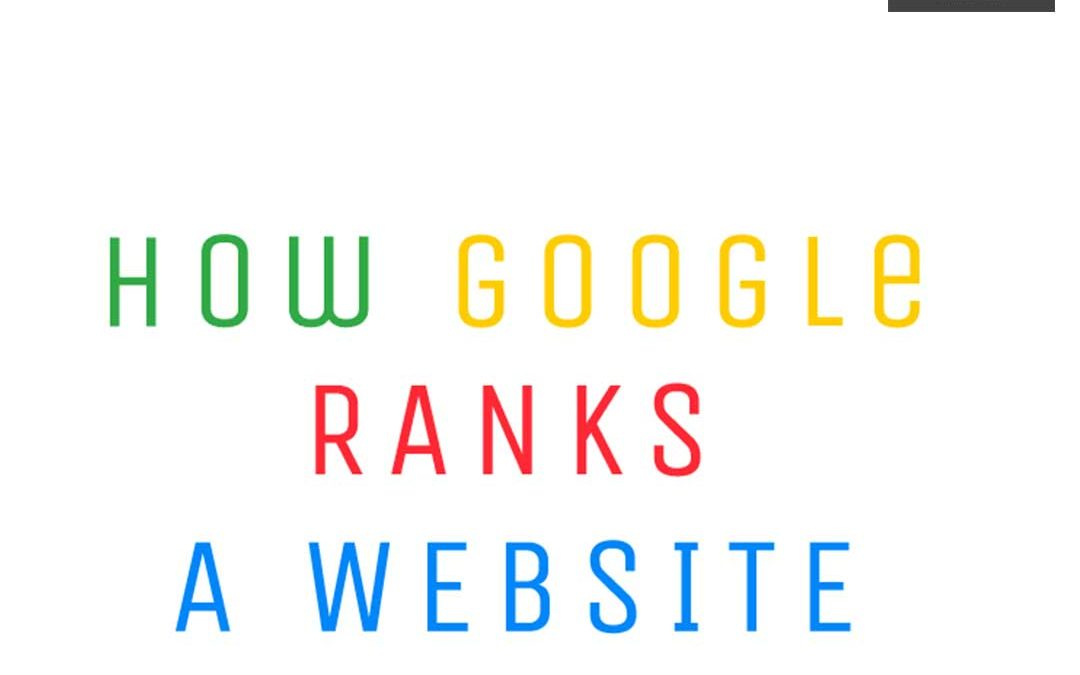 How Google ranks a Website: Ranking Factors in 2019 [Infographic]