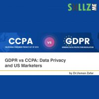GDPR vs CCPA: Data Privacy and US Marketers [Infographic]