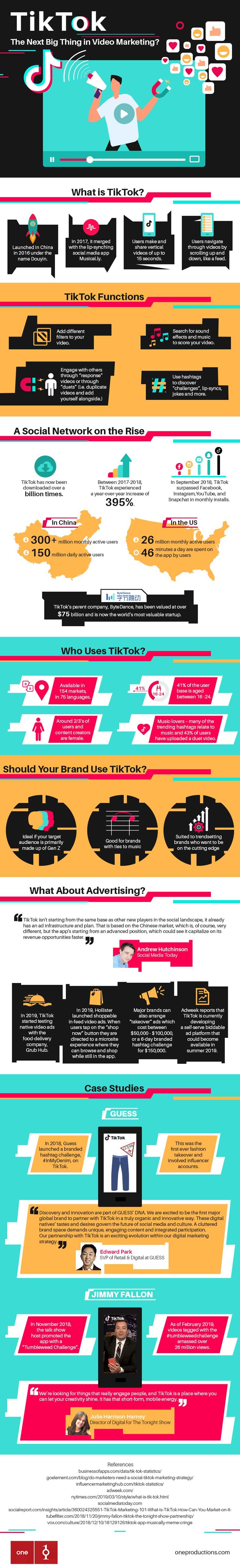 TikTok Video Marketing, The Next Big Thing [Infographic]