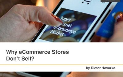 Why eCommerce Stores Don't Sell?