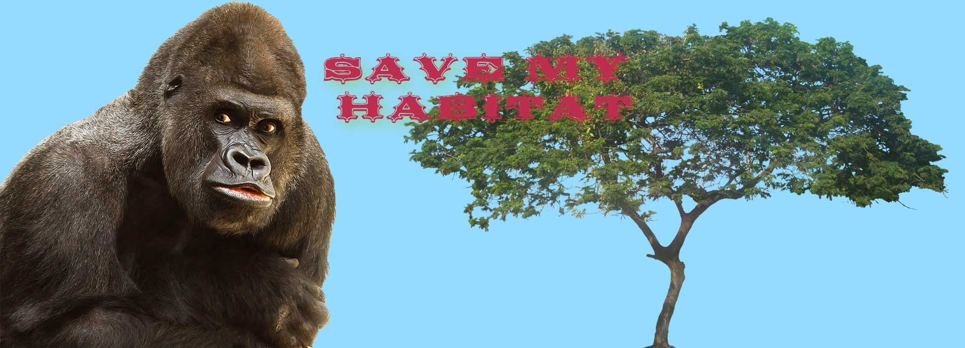 Title image Save Gorillas